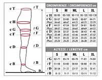 Колготы мужские Solidea Dynamic Ccl 1, закрытый носок, черный, XL