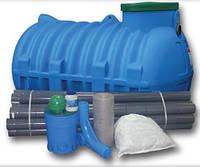 Автономная канализация JPR для 6 чел.(900л/сутки) комплект