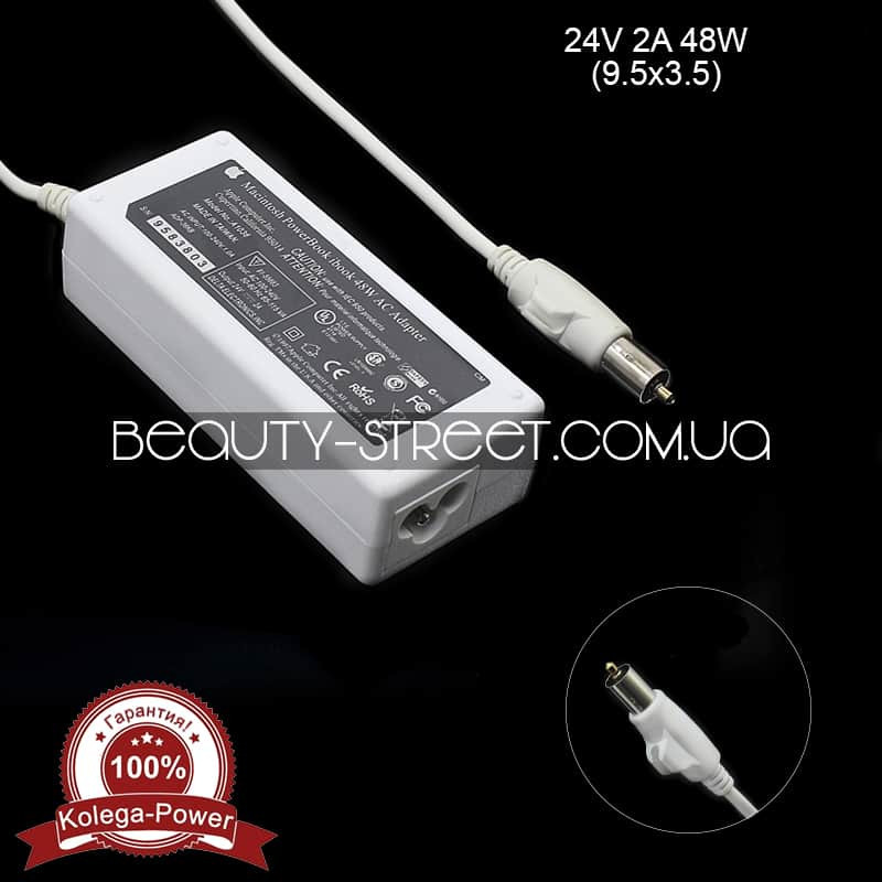 Блок питания для ноутбука Apple 24V 2A 48W 9.5x3.5 оптом от 50$