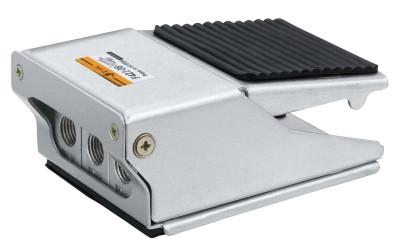 Пневматический распределитель с ножным управлением (педали) 3/2 лин/поз (НЗ)pedal-spring