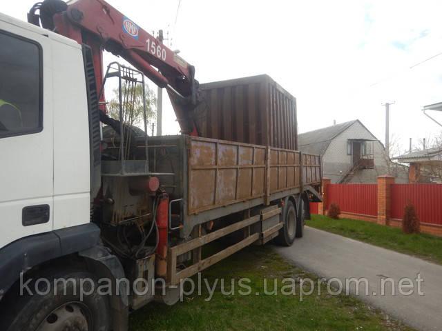 Перевезення контейнерів ціна