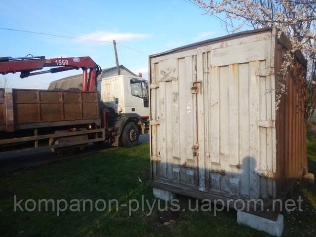Перевезення контейнерів
