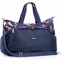 Спортивная сумка Dolly 937 большая с плечевым ремнем 3 цвета 59см* 30см* 25см