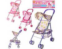 Игрушечная коляска для куклы M 0352 U/R