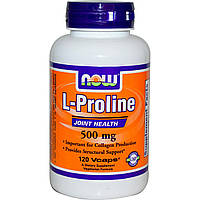 NOW Foods L-Proline 500mg 120 caps