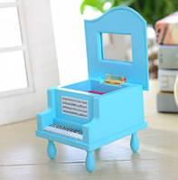"""Детская музыкальная шкатулка """"Пианино"""" 8010 Голубая"""