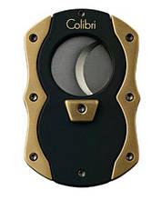 Стильная гильотинка Colibri CUT цвет - черный/позолота Co600010-knf