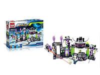 Детский конструктор BRICK / БРИК 1613 космос, база, фигурки, 398 деталей ( аналог лего / lego )