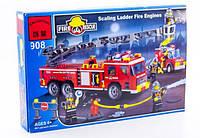 Детский конструктор BRICK / БРИК 908 Пожарная тревога, 607 деталей ( аналог лего / lego )