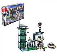 Детский конструктор BRICK / БРИК 129 полицейский участок, 589 деталей ( аналог лего / lego )