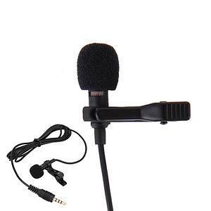 Петличний мікрофон, петличка для телефону iPhone, Samsung і т. д.