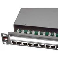 Патчпанели MOLEX 24хRJ45, PowerCat 5e, экранированная 1U