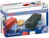 Fisсhertechnik PLUS Набор LED подсветки и звуковой контроллер FT-500880