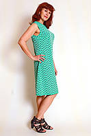 Платье-сарафан трапеция без рукавов П165