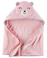 Детское махровое полотенце картерс для девочки