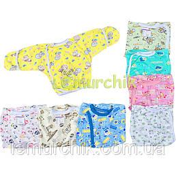 Сорочечка для новонароджених 100% бавовна 56, 62 р-р, на вибір