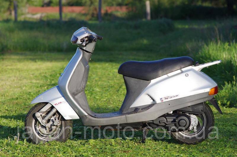 Скутер Honda Lead 90 (Хонда Леад) серый