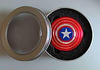 Spinner,  Спиннер металлический, Капитан Америка, на 3 минуты