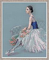 Набор для вышивания крестом Риолис Балерина 100/054