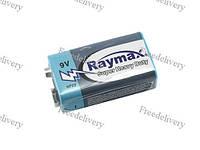 Батарейка крона Raymax CR-9V 6F22, 9В батарея