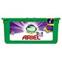 ARIEL 3-в-1 Color&Style капсулы для стирки, 28 шт.