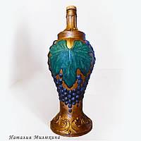 Подарочная бутылка для домашнего вина. Подарок на новый год или день рождения