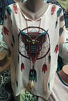 Женская футболка большого размера, фото 1