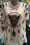 Женская футболка большого размера, фото 2