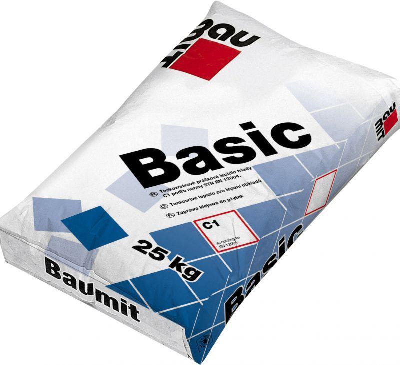 Baumit Basic клей для плитки 25 кг