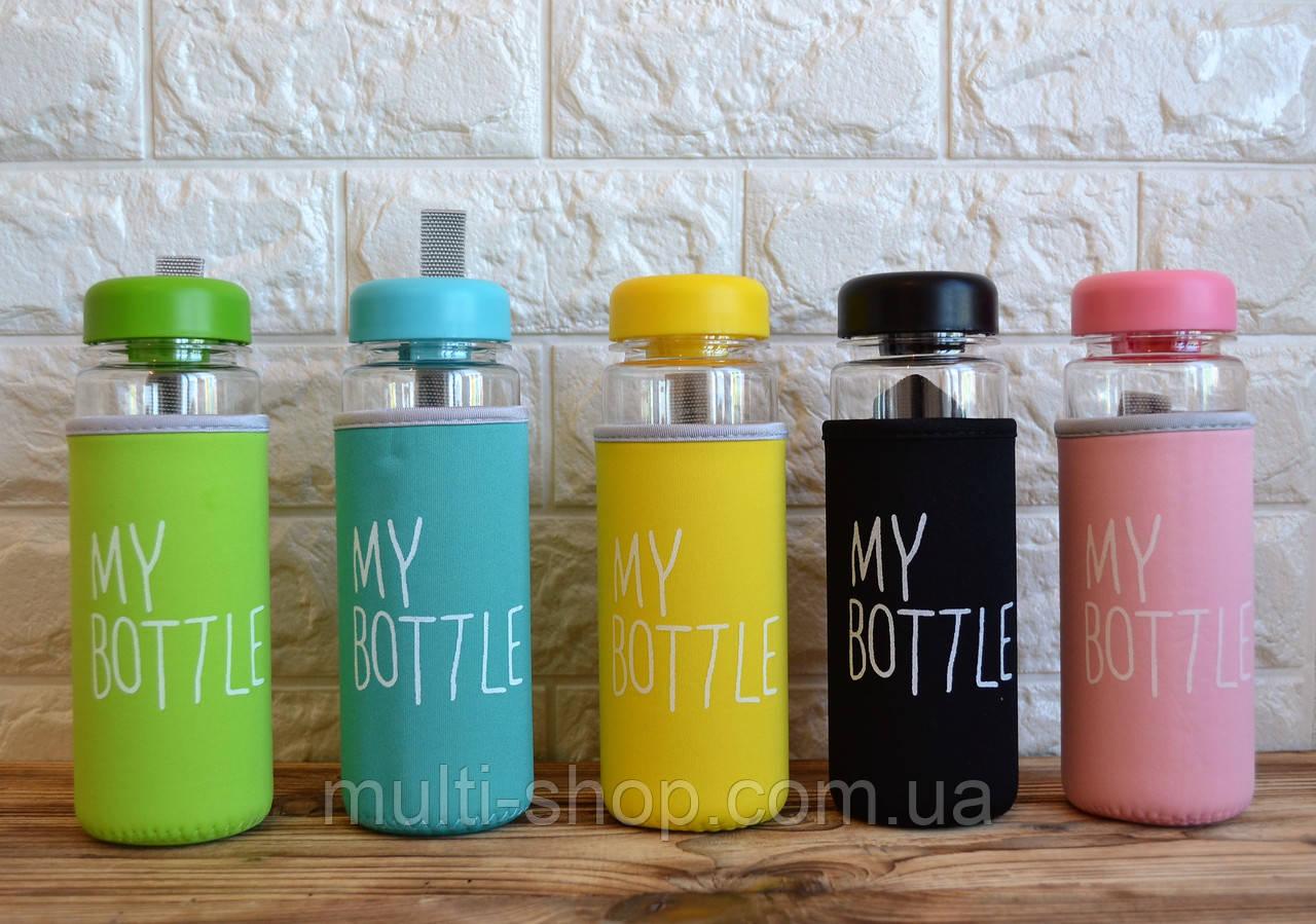 Бутылка Mybottle в термочехле, фото 1