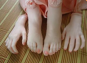 Реалистичная секс-кукла надувная большая реальный размер Angelina, фото 3