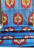 """Шелковая ткань """"Икат"""" ручного ткачества. Узбекистан, фото 3"""