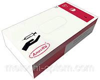 """Перчатки медицинские,""""Алиско"""", нестерильные, размер L, защитные, смотровые, латексные (100 шт/упаковка)"""