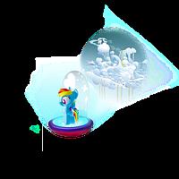 Ночник - фонарик с проектором My Little Pony  GoGlow от Worlds Apart, фото 1