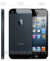 Мобильный телефон iPhone 5 black Android емкосный экран, Качественная точная копия Андроид