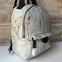 Кожаный женский рюкзак сумка мини Италия