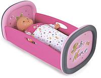 Люлька-кроватка для куклы Smoby Baby Nurse с аксессуарами (220313)