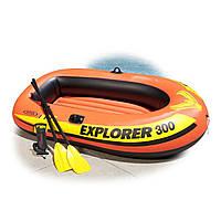 Intex 58332 Explorer 300 надувная лодка