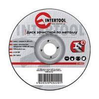 Диск зачистной по металлу 150x6x22.2мм INTERTOOL CT-4023