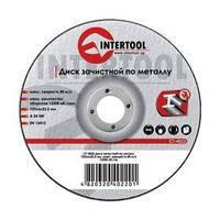 Диск зачистной по металлу 150x6x22.2мм INTERTOOL CT-4023