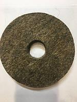 Войлочный круг для точила,мягкий,100х20