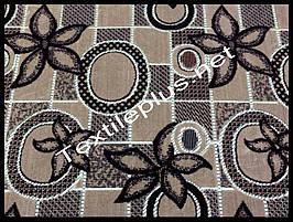 Покрывало дивандек из велюра Ebru textile