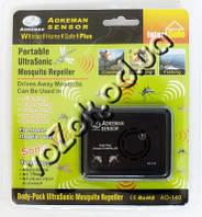Портативный ультразвуковой отпугиватель комаров UltraSonic Mosquito Repeller Aokeman Sensor AO-149, фото 1