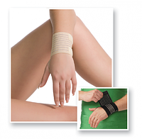 Бандаж на лучезапястный сустав легкой фиксации (эластичный)