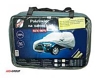 Тент для джипа, минивэна Milex Jeep ХL (подкладка, зеркало, замок) PEVA+PP Cotton