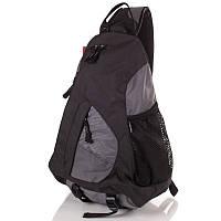Рюкзак 20 л Onepolar 1249 серый через плечо., фото 1
