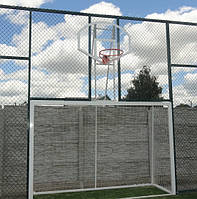 Ворота для міні футболу та гандболу з баскетбольним щитом, фото 1