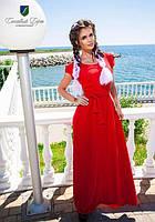 Женское красивое  платье в пол  КВ467