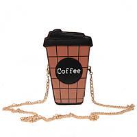 Сумка кроссбоди Кофе