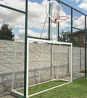 Минифутбольные ворота изготовлены из стальных труб, сваренных между собой,чтобы достичь максимально безупречного вида детских футбольных ворот, которые будут соответствовать Вашим представлениям о спортивном оборудовании нового поколения.